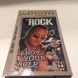 Vintage WWF The Rock VHS